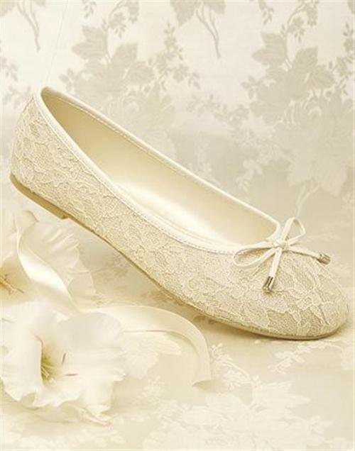 39 zapatos planos para novias - 21