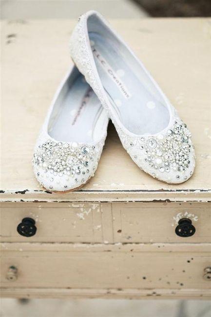 39 zapatos planos para novias - 22
