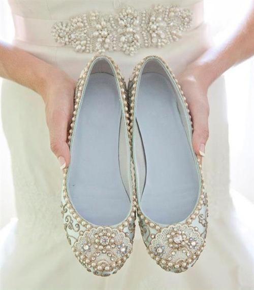 39 zapatos planos para novias - 24
