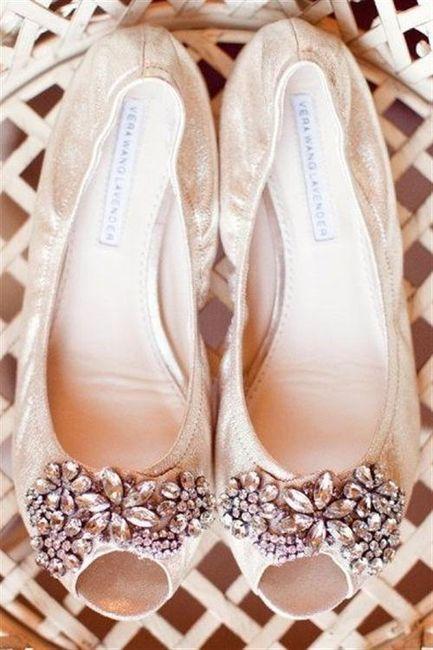 39 zapatos planos para novias - 26