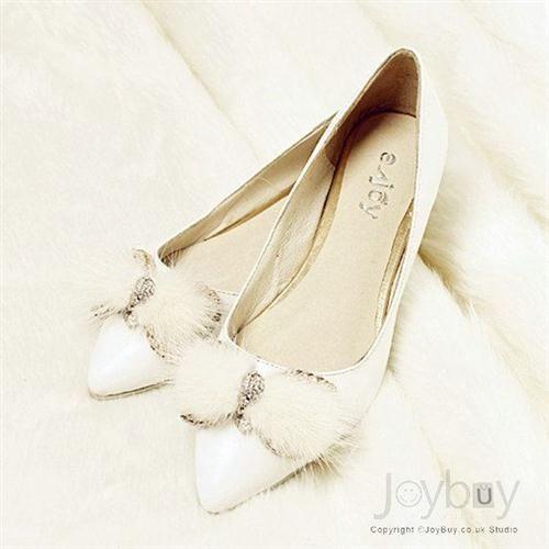 39 zapatos planos para novias - 27