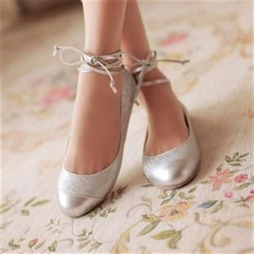 39 zapatos planos para novias - 28