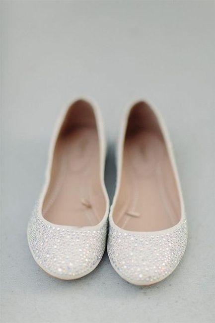39 zapatos planos para novias - 29