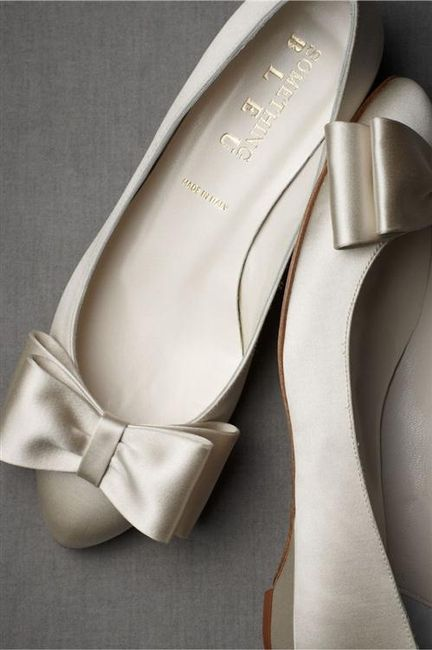39 zapatos planos para novias - 30