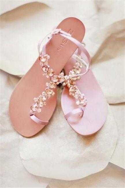 39 zapatos planos para novias - 33