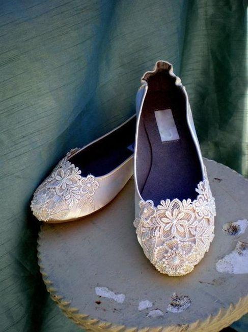 39 zapatos planos para novias - 37