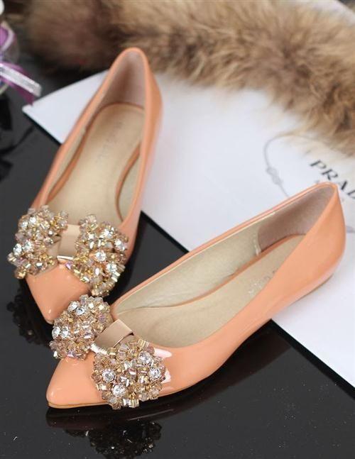 39 zapatos planos para novias - 39