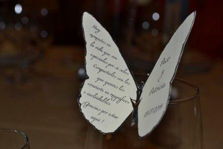 mariposas de agradecimiento