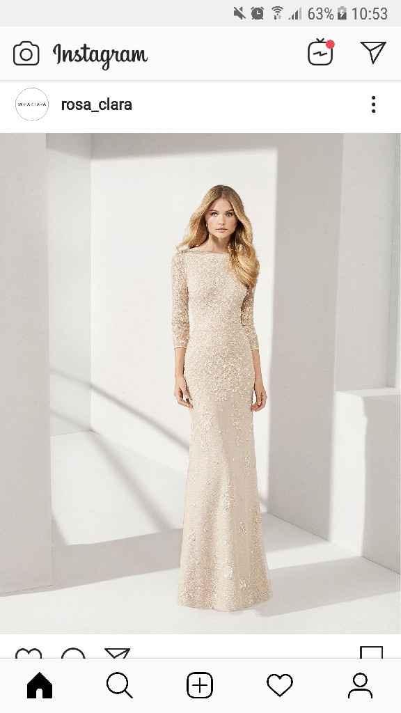 ¿Vestido de novia o de invitada? - 1