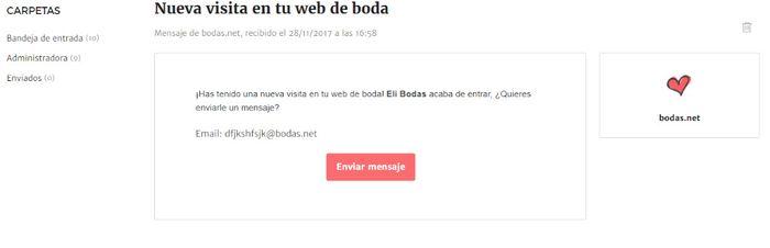 ¡Conoce todos los detalles de tu Web de Boda! 1