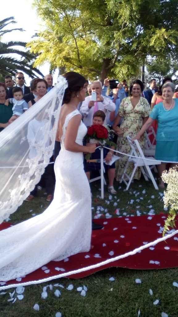 Te casaste con un modelo de la sposa? - 1