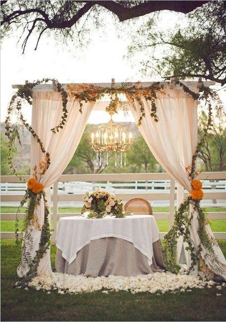 decoraciÓn boda civil al aire libre - organizar una boda - foro