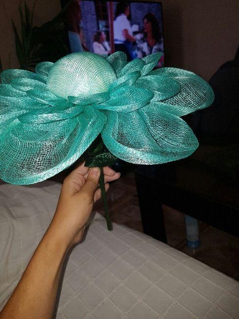 Tutorial : flor de sinamay 10