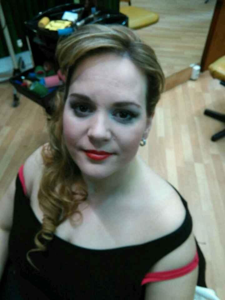 Maquillaje y peinado - 1