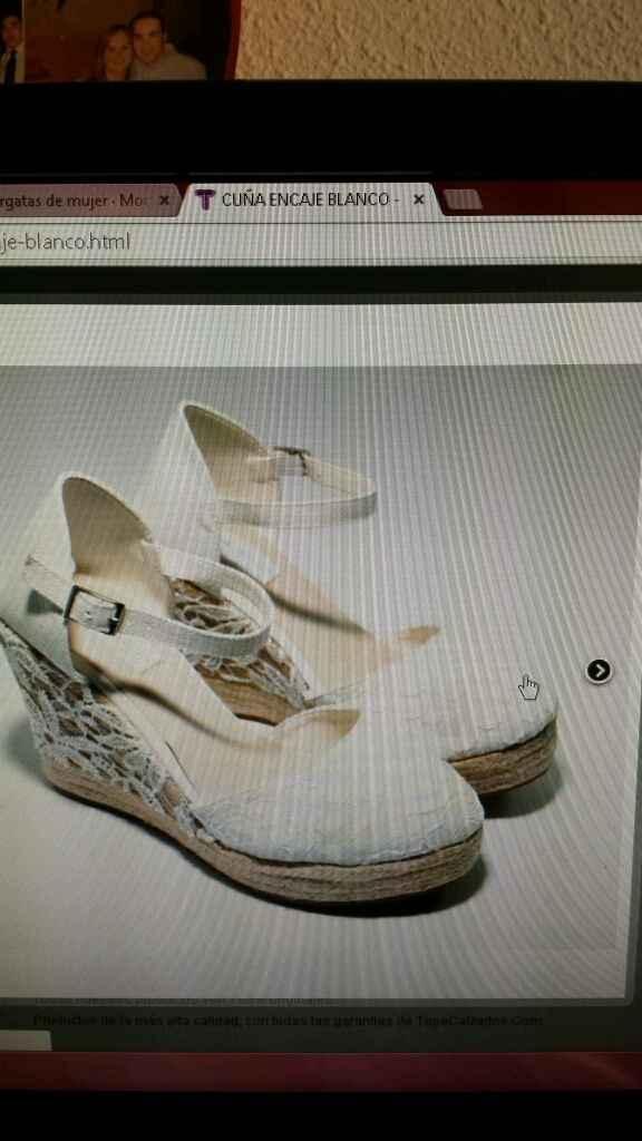 Quiero unas zapatillas de esparto,ayudarme! - 1
