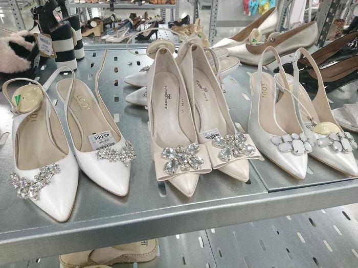 ¿Qué zapatos de novia os gustan más? 1