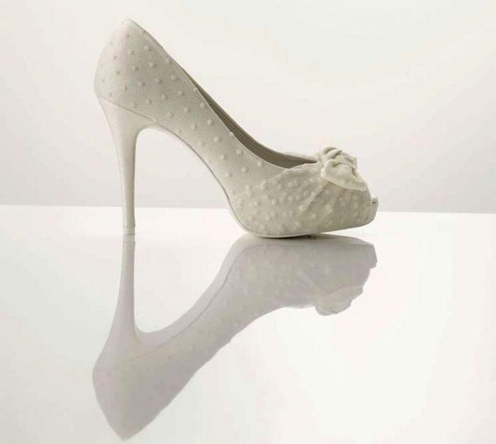 zapatos boda para vestido de encaje - moda nupcial - foro bodas