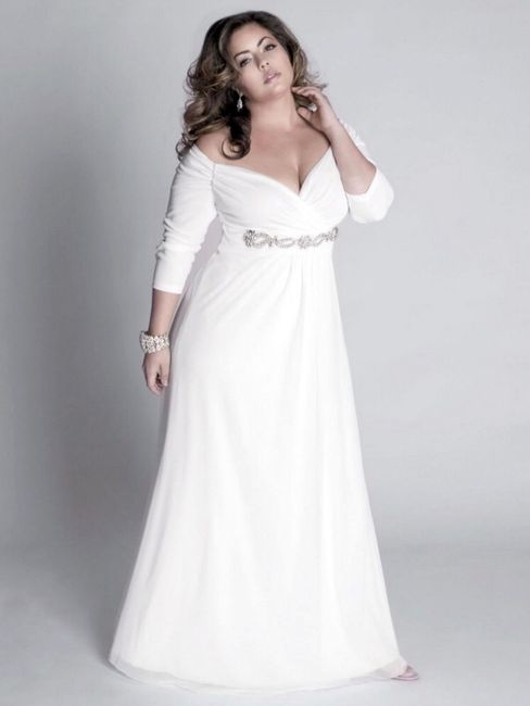 Vestido de novia de talla grande y low cost en barcelona! - Moda ...