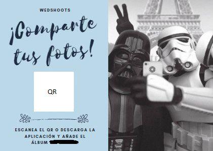 Tarjeta para Wedshoots 1