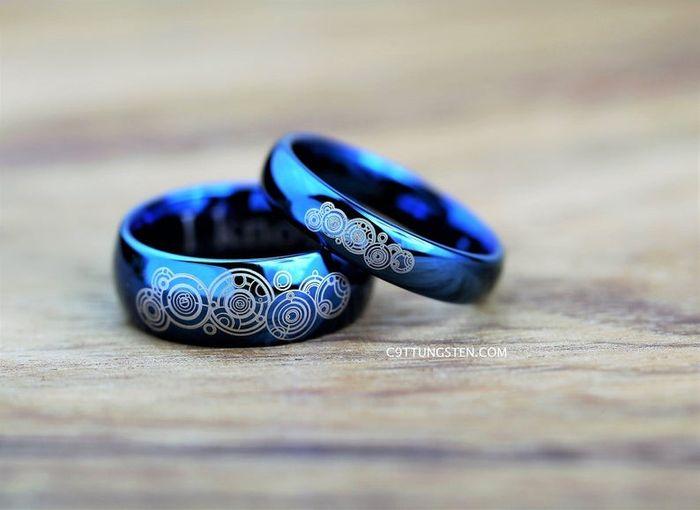 Textura alianzas de boda 1