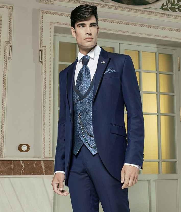 Tipos de traje y complementos para novio - 2