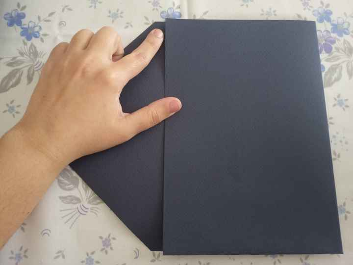 Mini tutorial en fotos de hacer sobres con bolsillo - 5