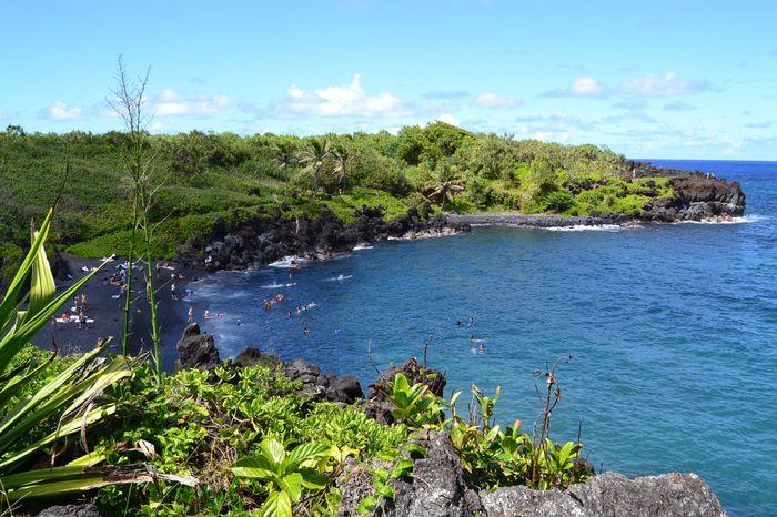Playa arena negara en Maui