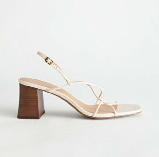 Zapatos de novia talla 42 en Mallorca - 1