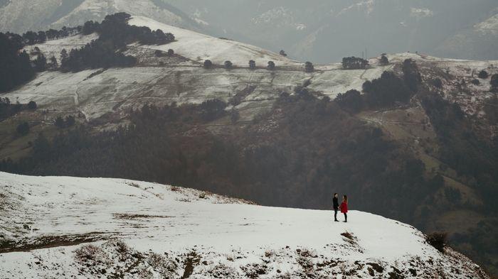 Preboda en la nieve 🥰 - 1