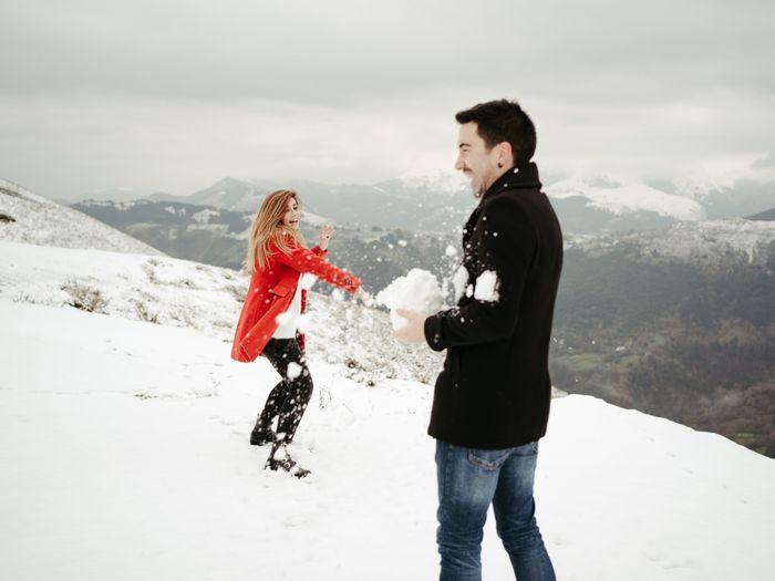 Preboda en la nieve 🥰 - 5