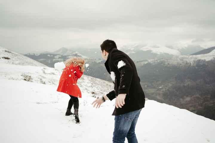 Preboda en la nieve 🥰 - 6