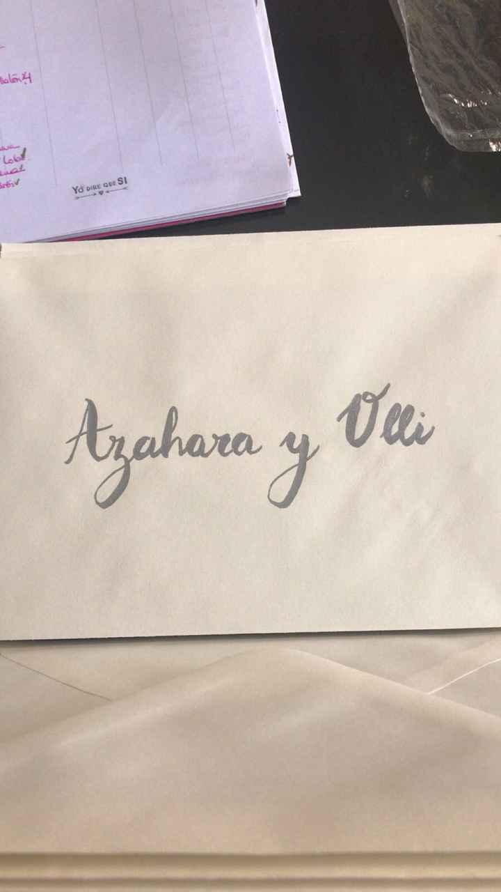 Cómo escribir los sobres de las invitaciones ? - 1