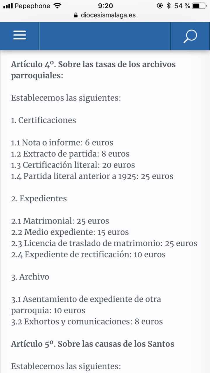 Toma de dichos/votos/otorgo - 1
