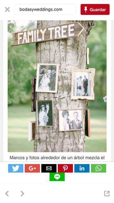 Decorar arbol/tronco para ceremonia 6