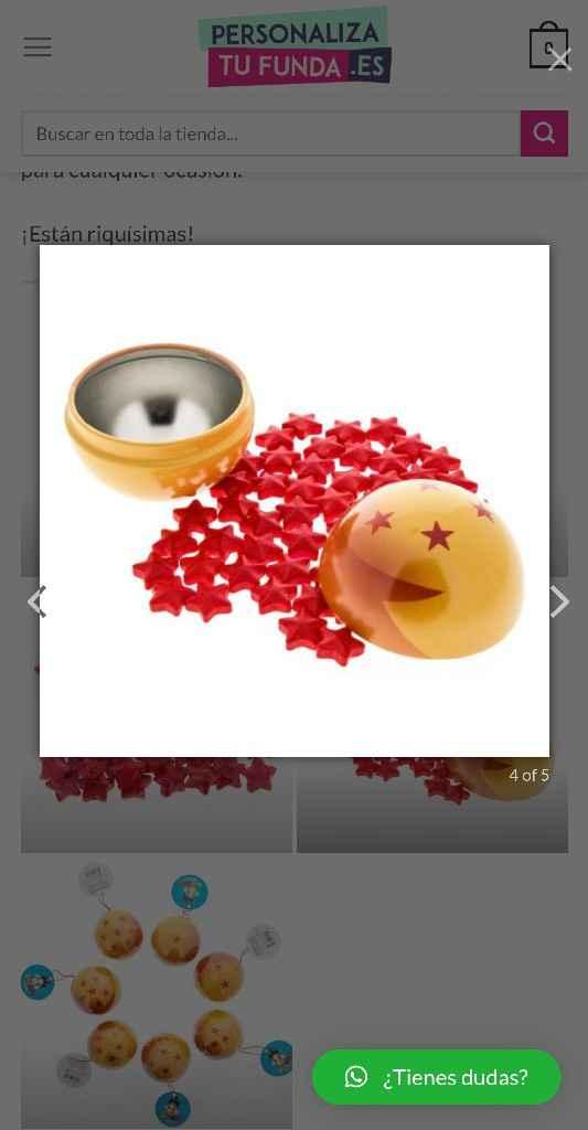 Cajita de anillos de boda - 1