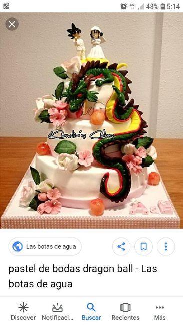 Como será vuestra tarta de boda? 2