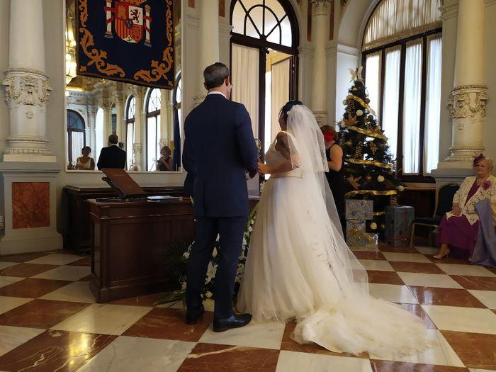 Velo: ¿Sí o no en boda civil? 1