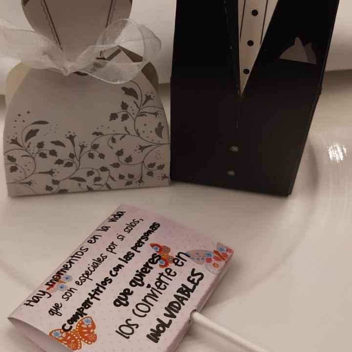 Marcasitios o agradecimiento invitados - 1