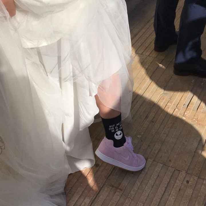 Zapatillas deportivas nupciales - 2