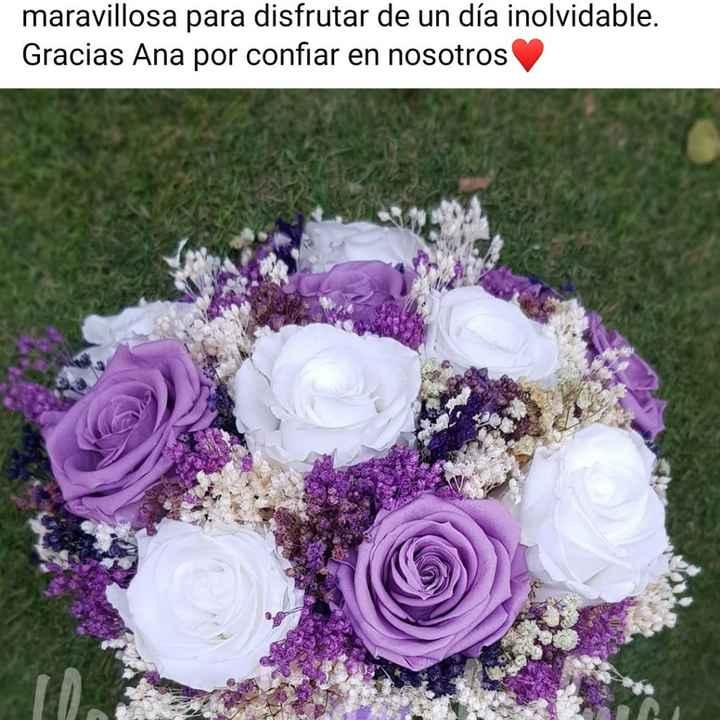 Ramo de novia con flores secas - 1