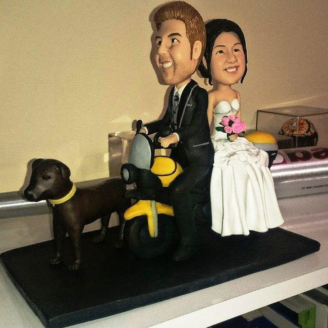 Nuestro muñeco de bodas !!