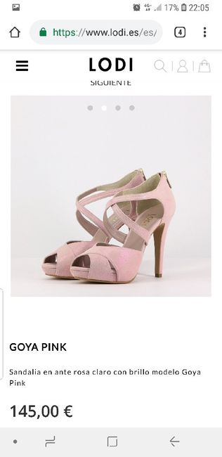 f951fd4166c1 Zapatos rosa empolvado - Moda nupcial - Foro Bodas.net
