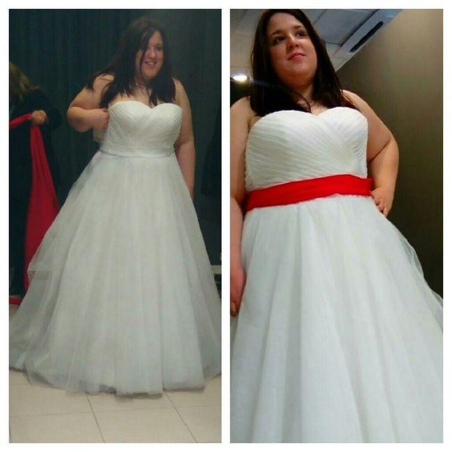 Ya tengo mi vestido de novia