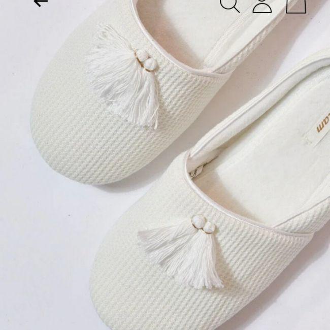 Zapatillas casa novia 4