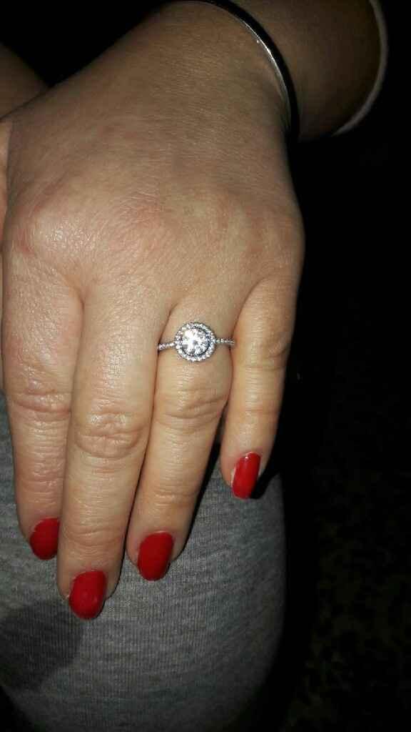 Mi anillo de compromiso! - 2