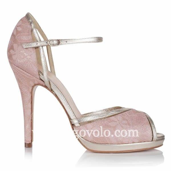 zapatos de color rosa palo - moda nupcial - foro bodas