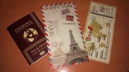 Mis Invitaciones Viajeras!!! por fin!!!<img class=