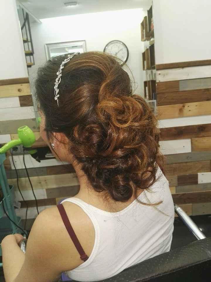 Prueba de maquillaje y peinado - 2