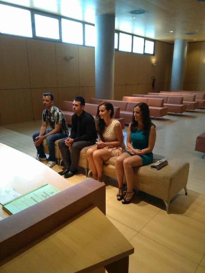 Novios que nos casamos el 26 de Mayo de 2018 en Valencia - 1