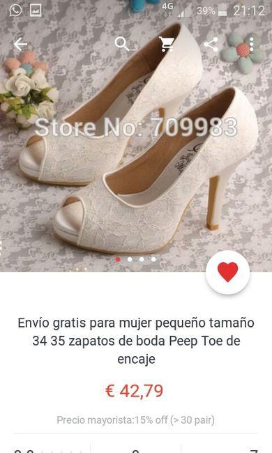 d318ef20 Zapatos aliexpress - Moda nupcial - Foro Bodas.net